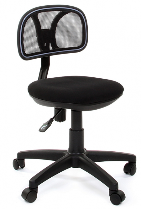 Кресло офисное CHAIRMAN 250 черная сетка сиденье черное C-3