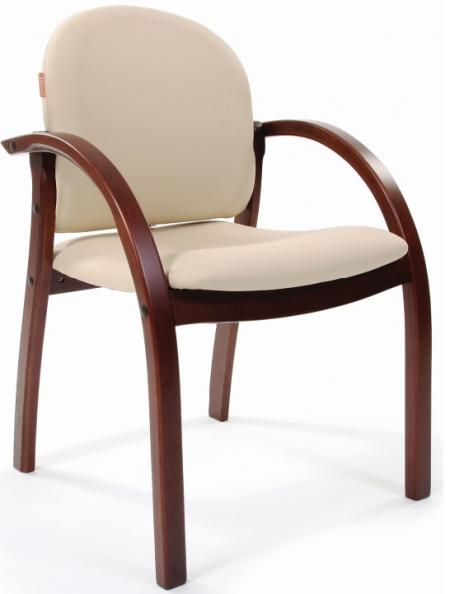 Кресло посетителя Джуно CHAIRMAN 659 экокожа терра бежевая