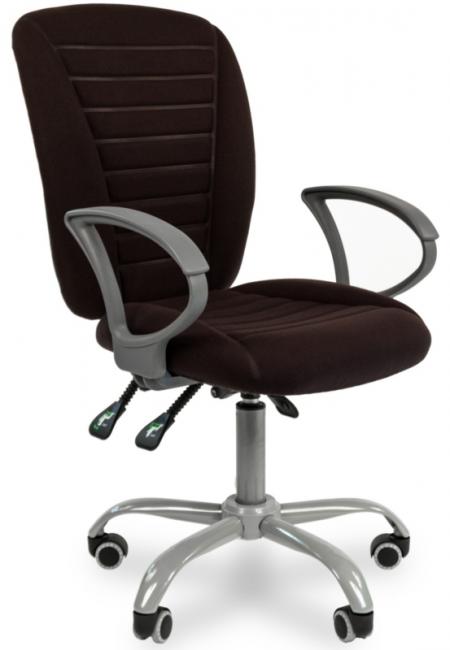 Кресло офисное CHAIRMAN 9801 Эрго черное 10-356