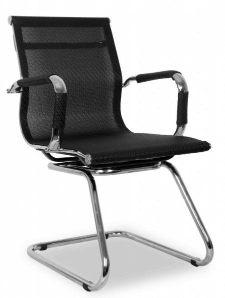 Кресло посетителя College XH-633AV сетка черная
