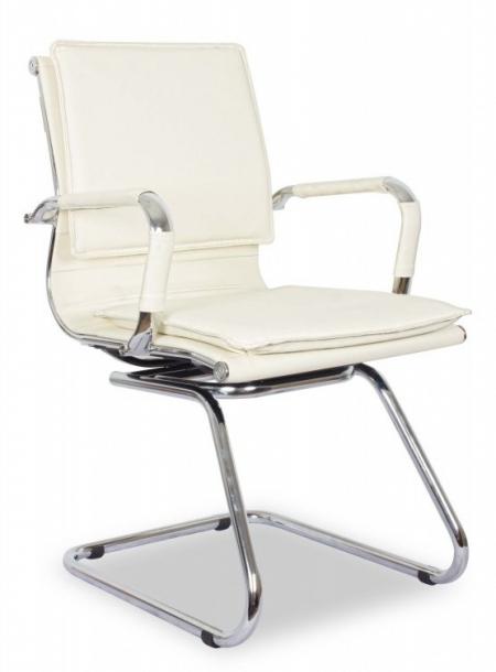Кресло посетителя College XH-635AV иск. кожа бежевая