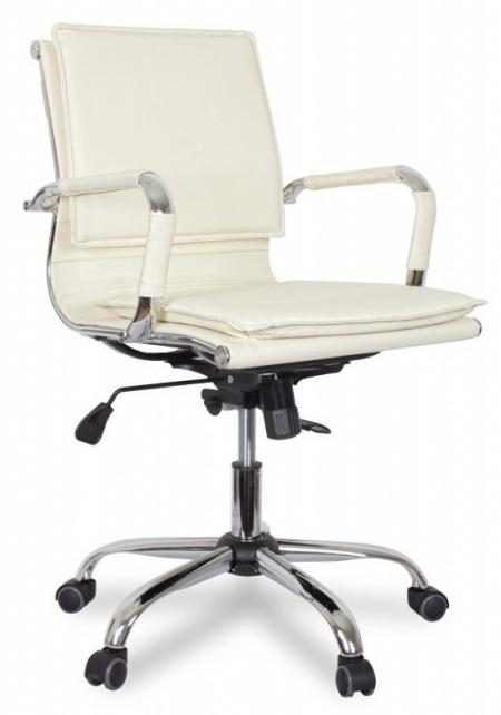 Кресло офисное College XH-635B бежевая иск. кожа