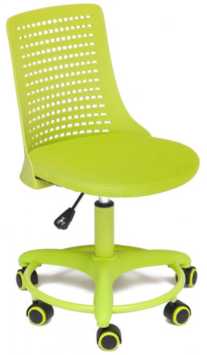Кресло детское Kiddy Кидди салатовая ткань и пластик