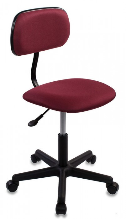 Кресло офисное CH-1201NX ткань бордо