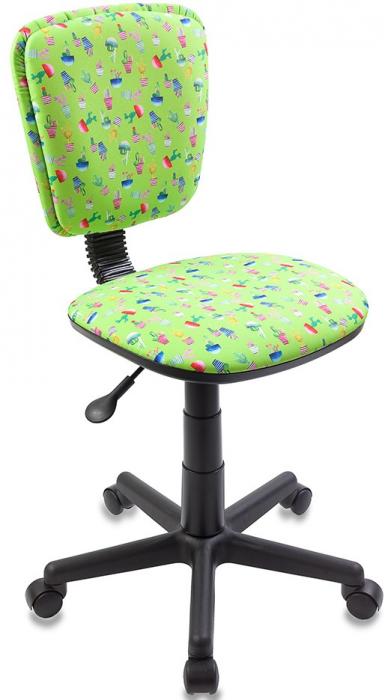 Кресло детское CH-204NX зеленый кактус