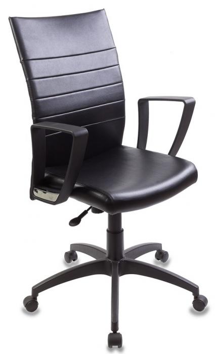 Кресло руководителя CH-400 черная экокожа