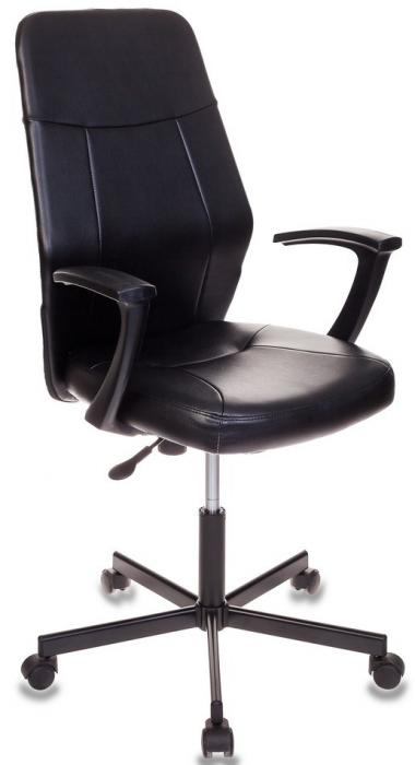 Кресло руководителя CH-605 черная экокожа