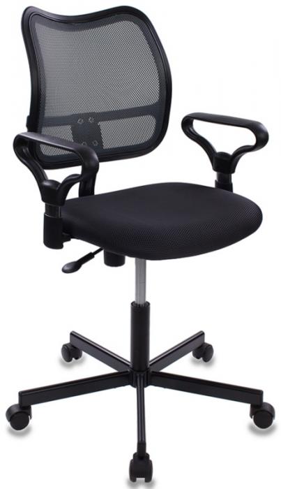 Кресло офисное CH-799M крестовина металл темно-серая сетка и сиденье