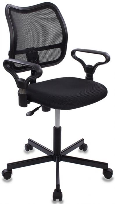 Кресло офисное CH-799M крестовина металл черная сетка и сиденье