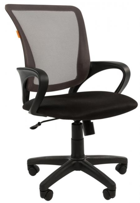 Кресло офисное CHAIRMAN 969 серая сетка