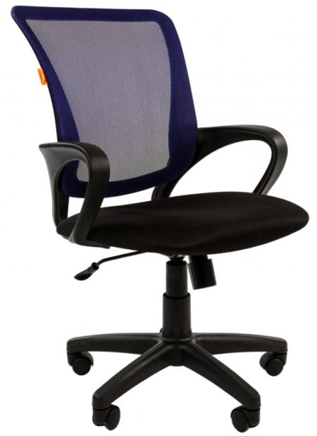 Кресло офисное CHAIRMAN 969 синяя сетка