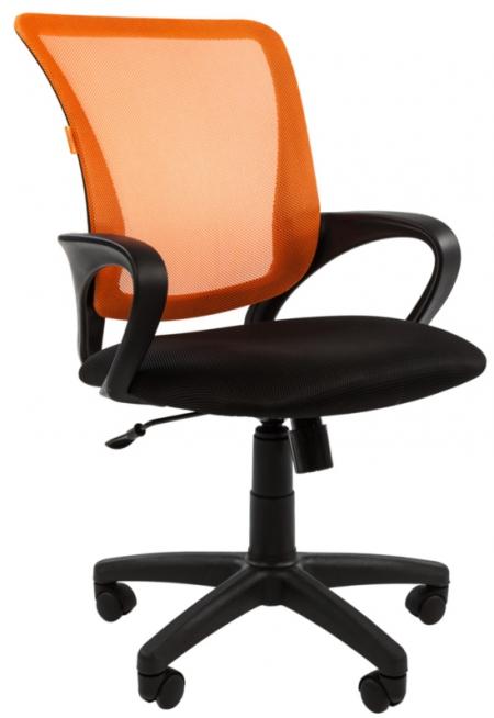 Кресло офисное CHAIRMAN 969 оранжевая сетка