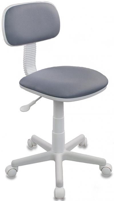 Кресло офисное CH-W201NX ткань серая пластик белый
