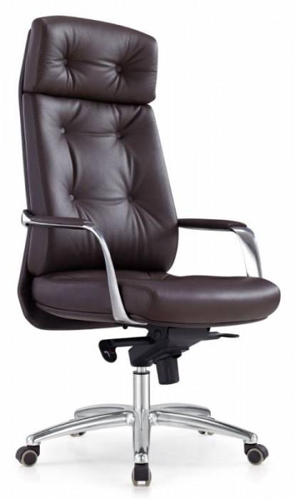 Кресло руководителя DAO ДАО коричневая кожа