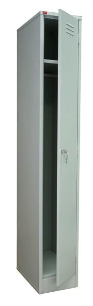 Шкаф для одежды металлический ШРМ-11 односекционный