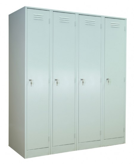 Шкаф металлический модульный для одежды ШРМ-М-400