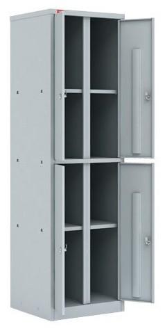 Шкаф архивный металлический ШАМ-24.0, 4 отделения
