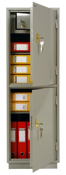 Шкаф бухгалтерский КБ-023Т с трейзером, 2 отделения