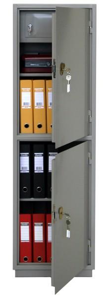Шкаф бухгалтерский КБ-032Т с трейзером, 2 отделения