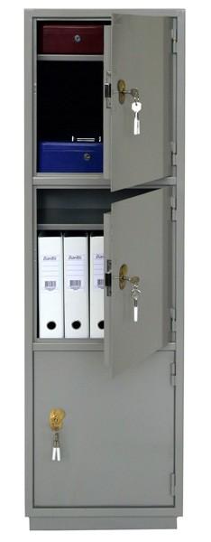 Шкаф бухгалтерский КБ-033, 3 отделения