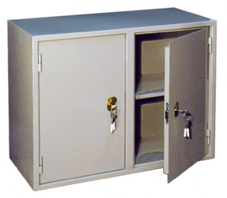 Шкаф бухгалтерский КБ-09, двухсекционный