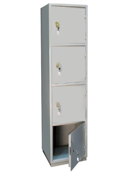 Шкаф бухгалтерский КБ-06, 4 отделения