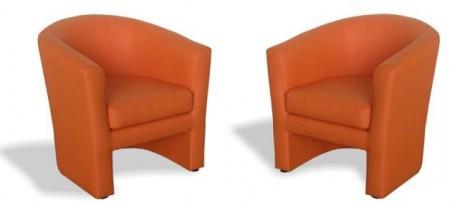 Кресло для отдыха Клуб экокожа Terra