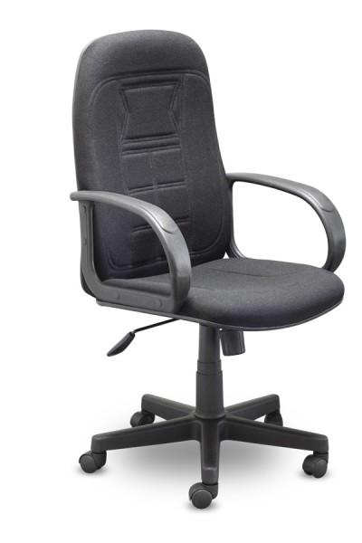 Кресло руководителя C-31 Fusion Фьюжен ткань черная