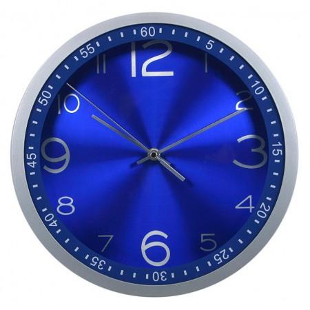 Бюрократ (BURO) Часы настенные R05P, круглые, синий, d30.5 см, плавный ход