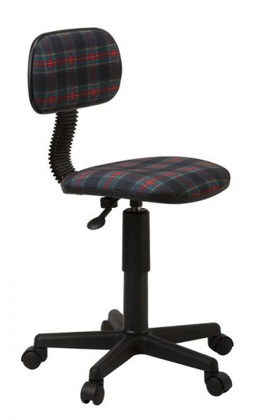 Кресло офисное CH-201NX ткань клетка шотландка 53-11