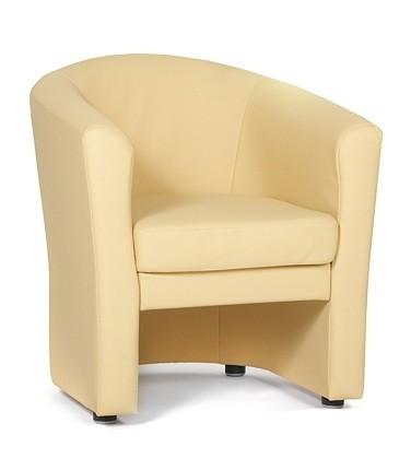 Кресло для отдыха Крон экокожа черная Terra 118