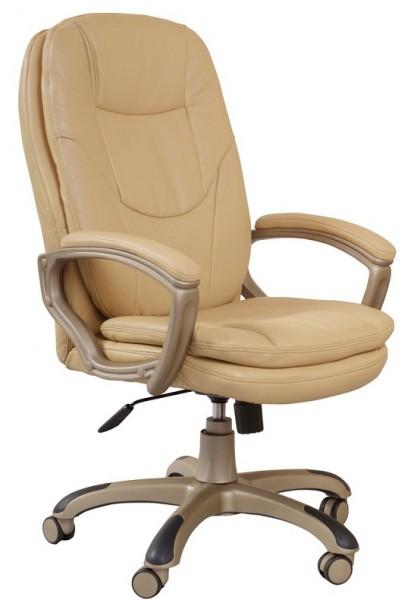Кресло руководителя CH-868YAXSN бежевая экокожа РТ