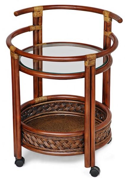 Стол барный из ротанга Andrea Андреа, коричневый