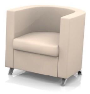 Кресло для отдыха Эрго экокожа черная Терра 118