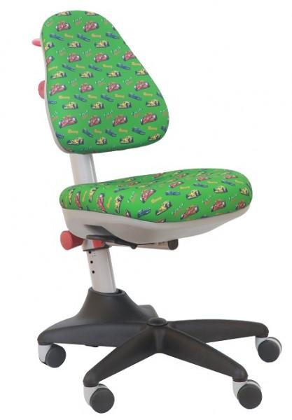 Кресло детское KD-2 *формула 1 на зеленом фоне*