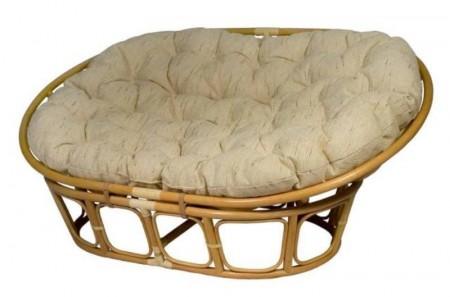 TetChair Кресло-диван из ротанга Mamasan Мамасан цвет мёд + подушка