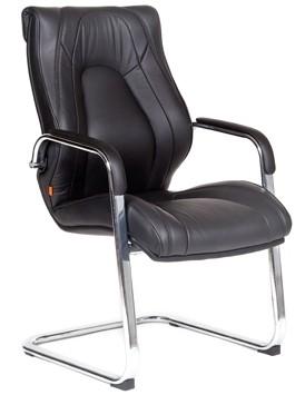Кресло посетителя CHAIRMAN FUGA V экокожа черная