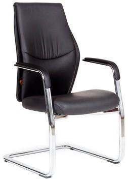 Кресло посетителя CHAIRMAN VISTA V экокожа черная