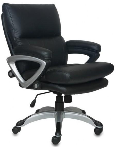 Кресло офисное CH-890S-Low черная иск.кожа
