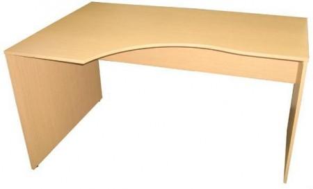 Стол письменный SE-1400L Simple Симпл легно светлый левый