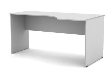 Стол письменный SE-1400R Simple Симпл серый правый