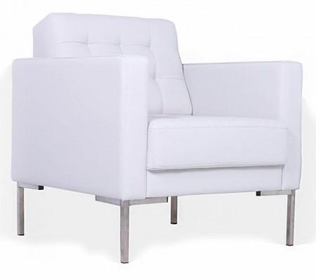 Кресло для отдыха Next Нэкст экокожа черная