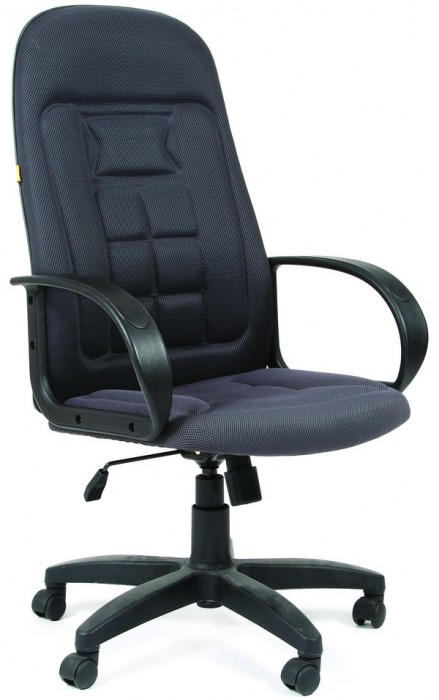 Кресло руководителя CHAIRMAN 727 ткань серая TW-12