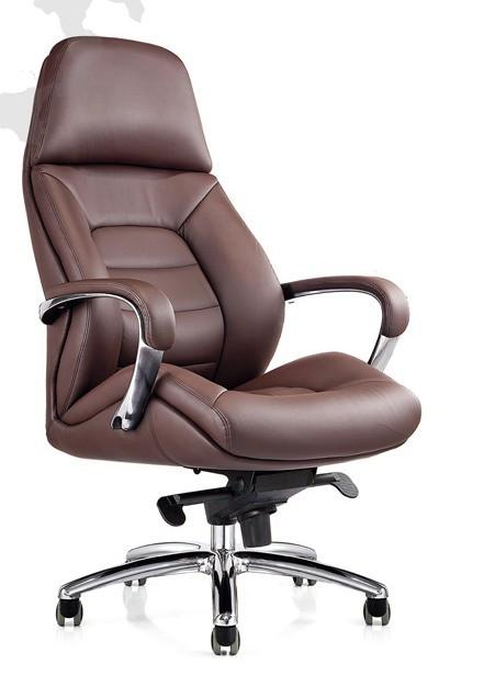 Кресло руководителя Shake CH-181 кожа коричневая