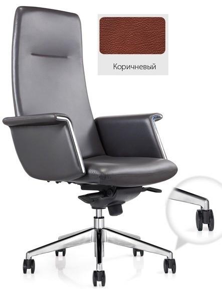 Кресло руководителя Vex CH-188 кожа коричневая