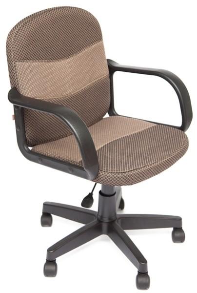 Кресло офисное BAGGI Багги бежевая ткань, пиастра