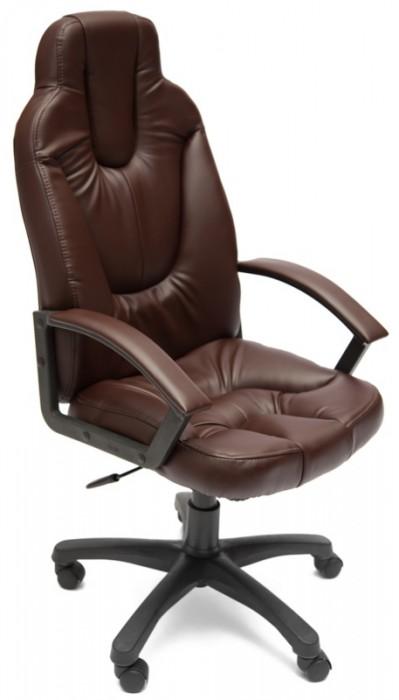 Кресло руководителя NEO2 Нео2 коричневая экокожа