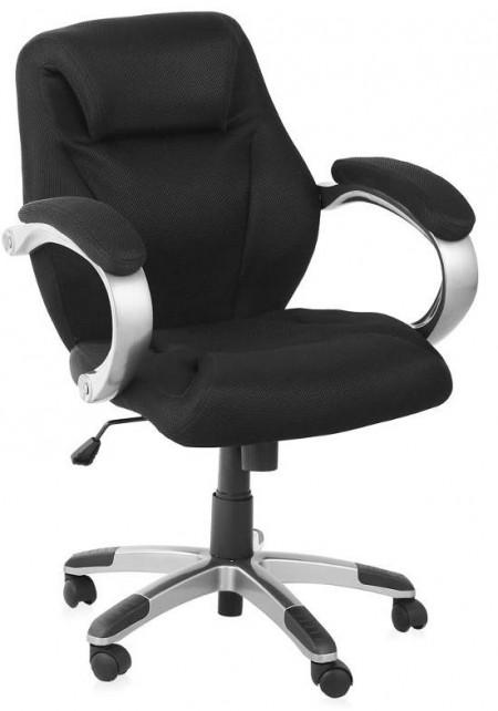 Кресло руководителя H-8703F-2A ткань черная