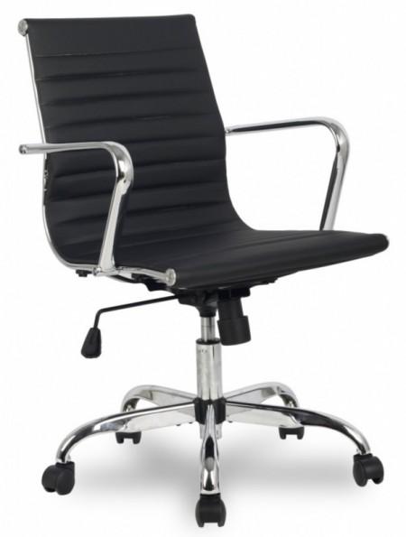 Кресло офисное College H-966L-2 черная иск. кожа