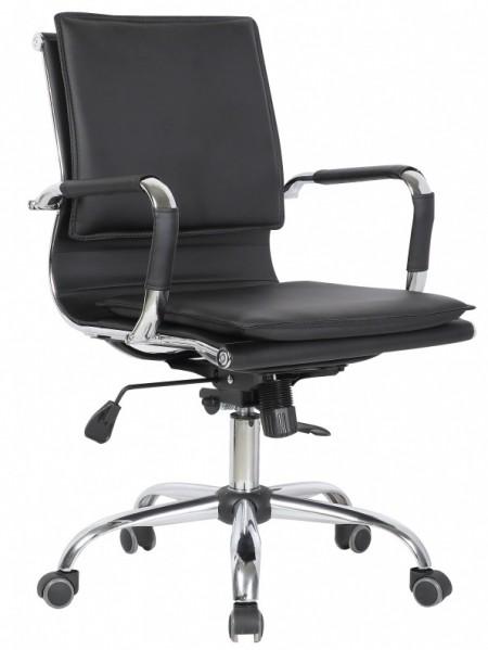 Кресло офисное College XH-635B черная иск. кожа